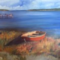 Ruth Jensen - Red Dinghy