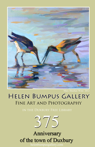 Duxbury's 375th anniversary celebrated by the Helen Bumpus Gallery